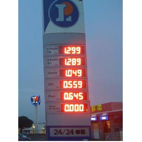 12 inch Tall  LED Gas Price Signs(8.888)
