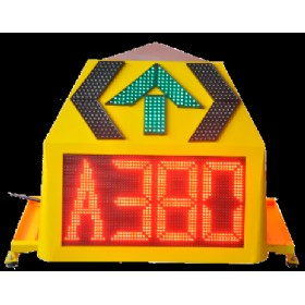 Three Sided Airport Guidance LED Signs