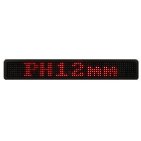 P12mm 7x80Dot Bus Route Displays