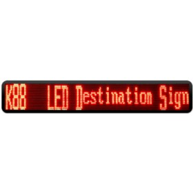 P8*10mm 16x160Dot Bus Destination Displays